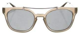 Tory Burch Resin Mirror Sunglasses