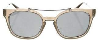 Tory Burch Resin Mirror Sunglasses
