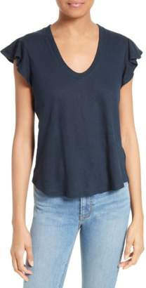 Rebecca Taylor Washed Texture Jersey Tee