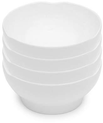 Q Squared Pearl Melamine 4-Pc. Cereal Bowl Set