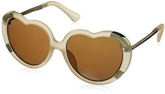 A. J. Morgan A.J. Morgan Women's Heartstomper Round Sunglasses