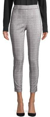 Dorothy Perkins Plaid High-Rise Skinny Trousers