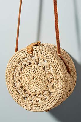 Anthropologie Rina Crocheted Crossbody Bag