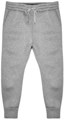 Helmut Lang Grey Melange Modal Jogging Trousers