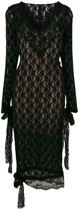Christopher Kane stretch lace dress