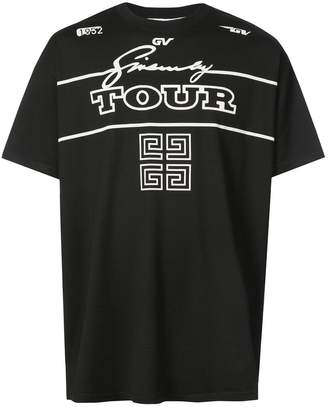 Givenchy 4G Logo Tour T-shirt