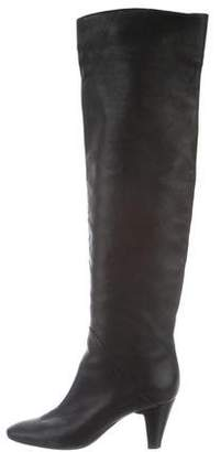 Vicini Leather Knee-High Boots