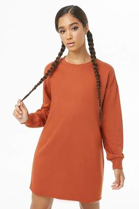 Forever 21 French Terry Sweatshirt Dress