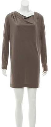 3.1 Phillip Lim Long Sleeve Draped Mini Dress