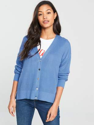 Very Tie Back Cardigan - Blue