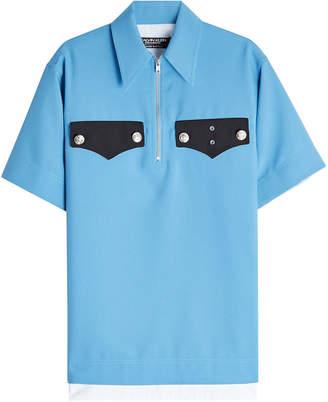 Calvin Klein Policeman Collared Pique Shirt