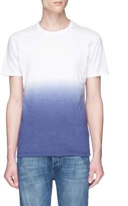 Denham Jeans 'Dip Dye' gradient T-shirt