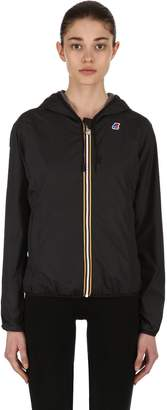 K-Way Lily Hooded Jersey Jacket