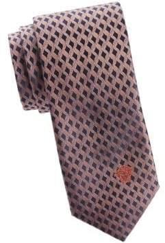 Versace Wavy Silk Tie