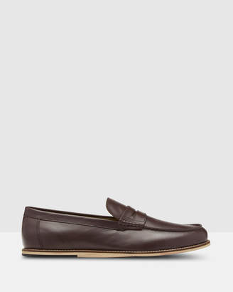 Oxford Paul Leather Moccasin