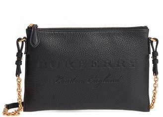 Burberry Black Leather Crossbody Handbags - ShopStyle 065f5388da