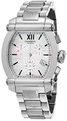 Charriol Women 's ' Columbus ' Swiss QuartzステンレススチールDress Watch , Color : silver-toned (モデル: 060t.100.710 )