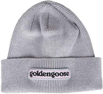 Golden Goose Logo Patch Beanie