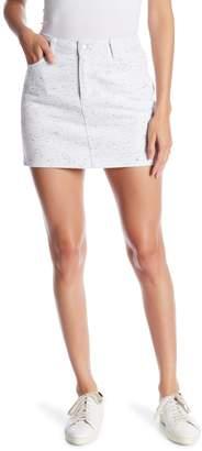 Honeybelle Honey Belle Heathered Denim Mini Skirt