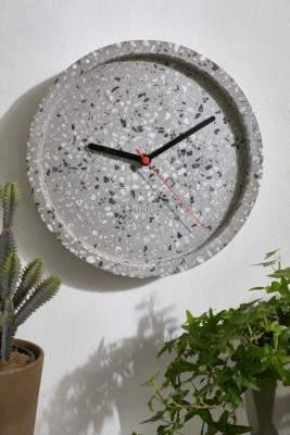 Karlsson Grey Terrazzo Wall Clock