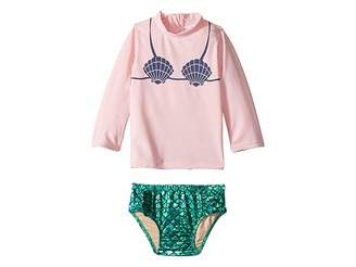 shade critters Mermaid Rashguard Set (Infant/Toddler)