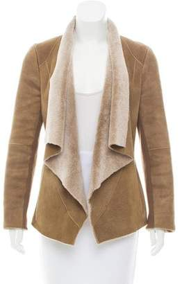 Vince Shearling Casual Jacket