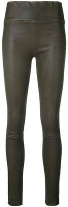 Sprwmn stretch leather trousers