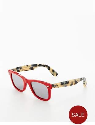 Ray-Ban Red Wayfarer Sunglasses