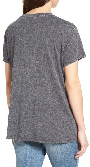 Women's Treasure & Bond Burnout Boyfriend Tee 3