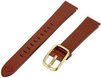 b&nd by Hadley Roma with MODE16mm Leather Calfskin Brown Watch Strap