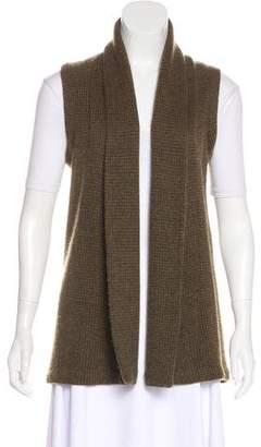 Ralph Lauren Cashmere Open Front Vest