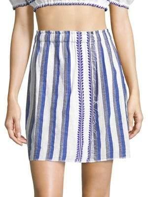 Lemlem Lulu Stripe Skirt