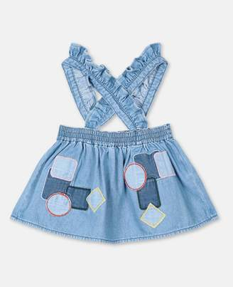 Stella McCartney Patches Denim Skirt, Unisex