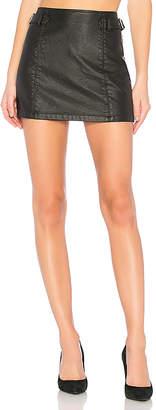 Free People Charli Vegan Skirt