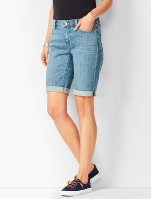 Talbots Girlfriend Jean Shorts - Blue Moon Wash