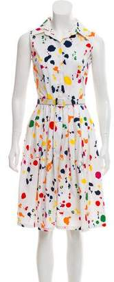Samantha Sung Printed A-Line Dress