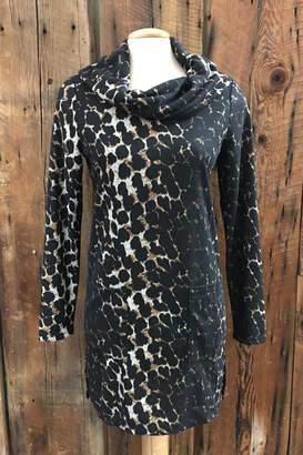 Tribal Leopard Tunic Sweater