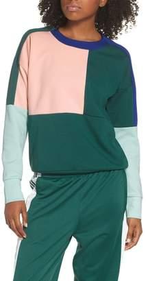 adidas ID Glory Colorblock Crewneck Sweatshirt