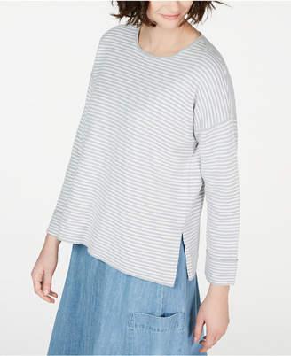 Eileen Fisher Striped Top, Regular & Petite