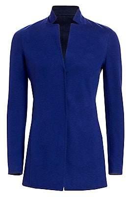 Akris Women's Reversible Cashmere Jersey Jacket