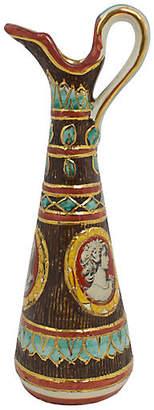 One Kings Lane Vintage Deruta Italian Pottery Vase - G3Q Designs