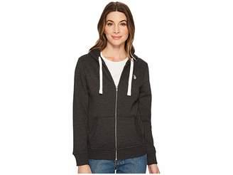 U.S. Polo Assn. Zip-Up Fleece Hoodie Women's Sweatshirt