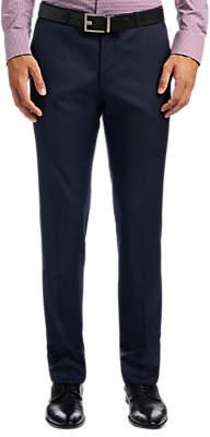 HUGO BOSS HUGO by C-Shark1 Wool Micro Pattern Regular Fit Suit Trousers, Navy