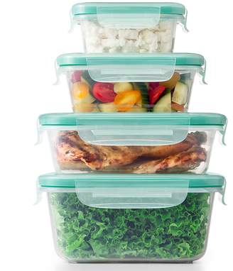 OXO Good Grips Smart Seal 20-piece Plastic Food Storage Container Set