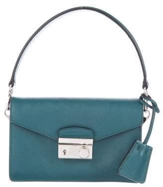 Prada Saffiano Mini Sound Crossbody Bag