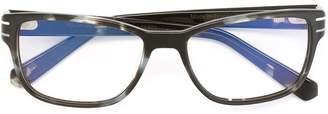 Tag Heuer Eyewear rectangular frame glasses