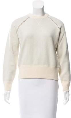 Maison Margiela Rib Knit Crew Neck Sweater