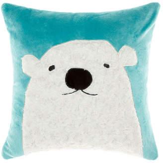 Hiccups Blue Polar Bear Cushion
