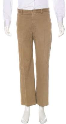 Giorgio Armani Four-Pocket Flat Front Pants