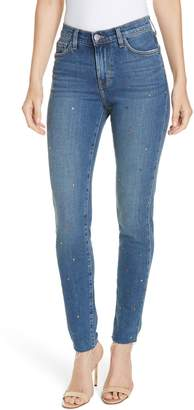 L'Agence El Matador Crystal Embellished Jeans